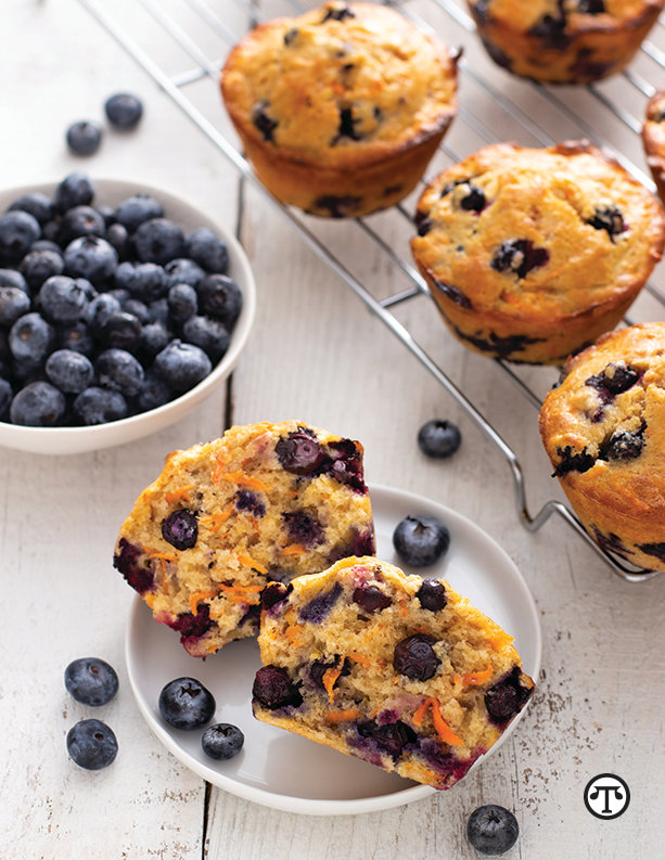 California sweetpotatoes are a key ingredient to tasty, moist and healthy muffins.