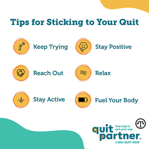 There are many ways you can make it easier on yourself to quit tobacco.