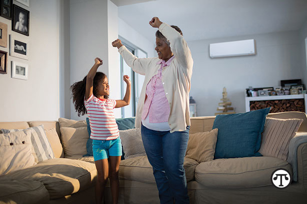 You can promote multigenerational home harmony with    a climate control system that will keep your family warm without tempers    heating up.