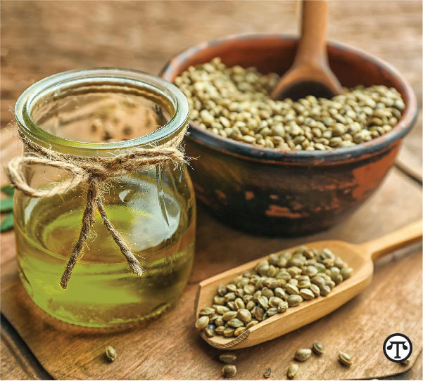 A unique combination of hemp seed, krill and salmon    oil has significant health benefits for pets both internally and externally.