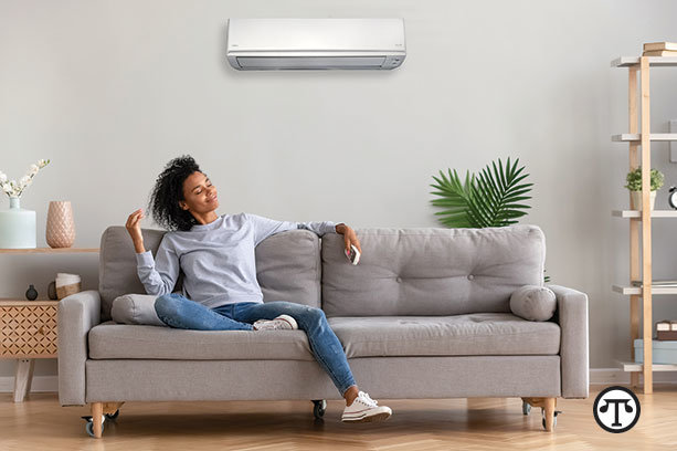 You can enjoy comfort at home and the comforting    thought that you're helping the environment, with a smart heating and    cooling system.