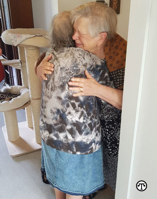 Sisters Reunited After 72 Years Apart