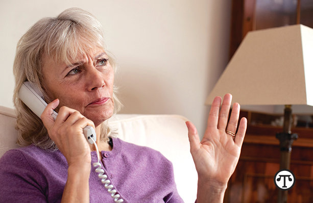 If you get a threatening call from someone saying they are from ­Social Security, it is from a scammer.