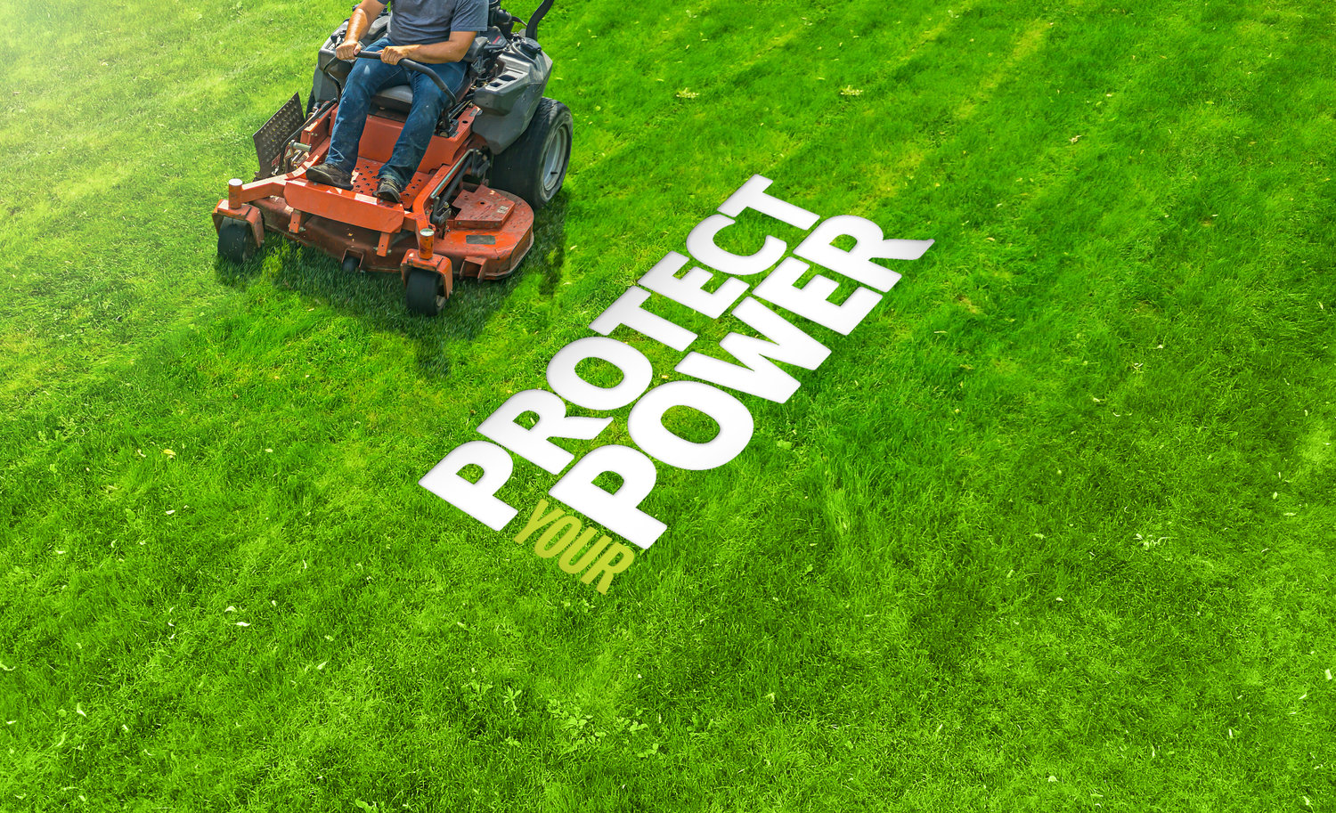 The grass can be greener on your side of the fence if you take proper care of your power equipment.
