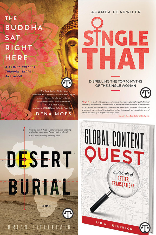Diverse Book Ideas: Family Odyssey to India; Geopolitical Thriller; Myths About Single Women; Helping the World Communicate