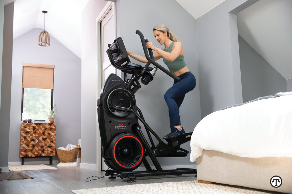 Staying active at home is easier with the Bowflex Max Total, which offers personalized workouts and coaching technology that can keep you motivated over the long term.