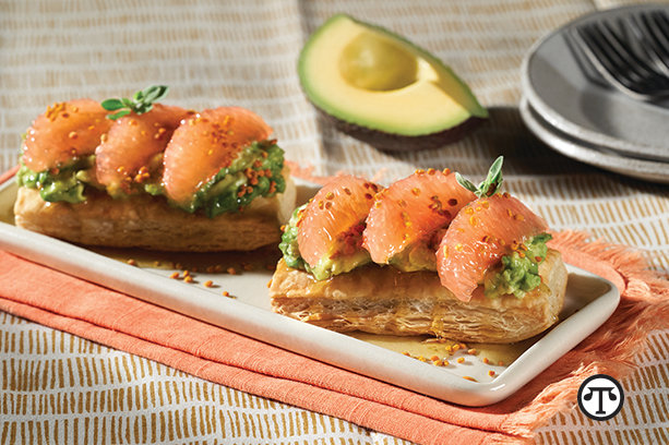 Savory Tart of California Avocado
