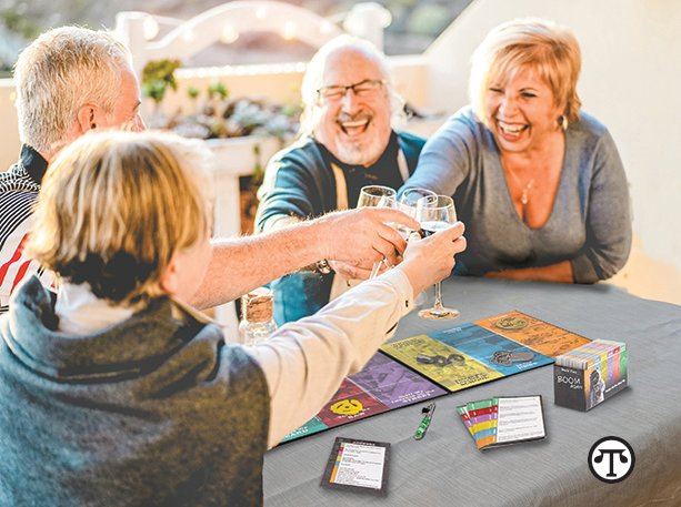 "Baby Boomers Still Playing Together Even ""Party Gaming"" on Zoom"