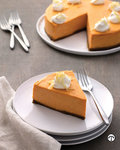 This sweetpotato    cheesecake with gingered whipped cream is a terrific treat for family and    friends.