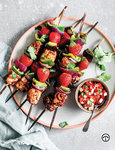 Eating protein and foods high in vitamin C such as strawberries is key. Try this recipe for Strawberry & Tuna Kebabs on californiastrawberries.com.